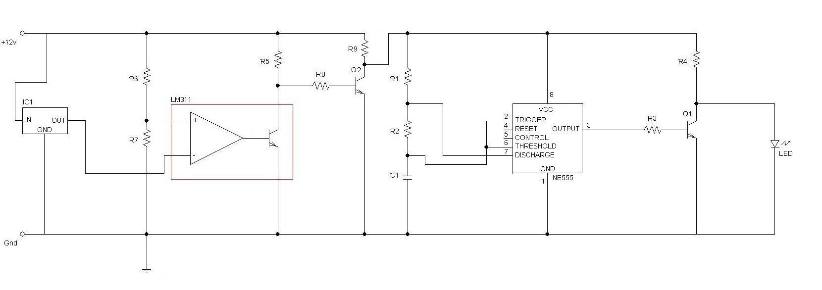 Schema Elettrico Auto : Elettronica led auto
